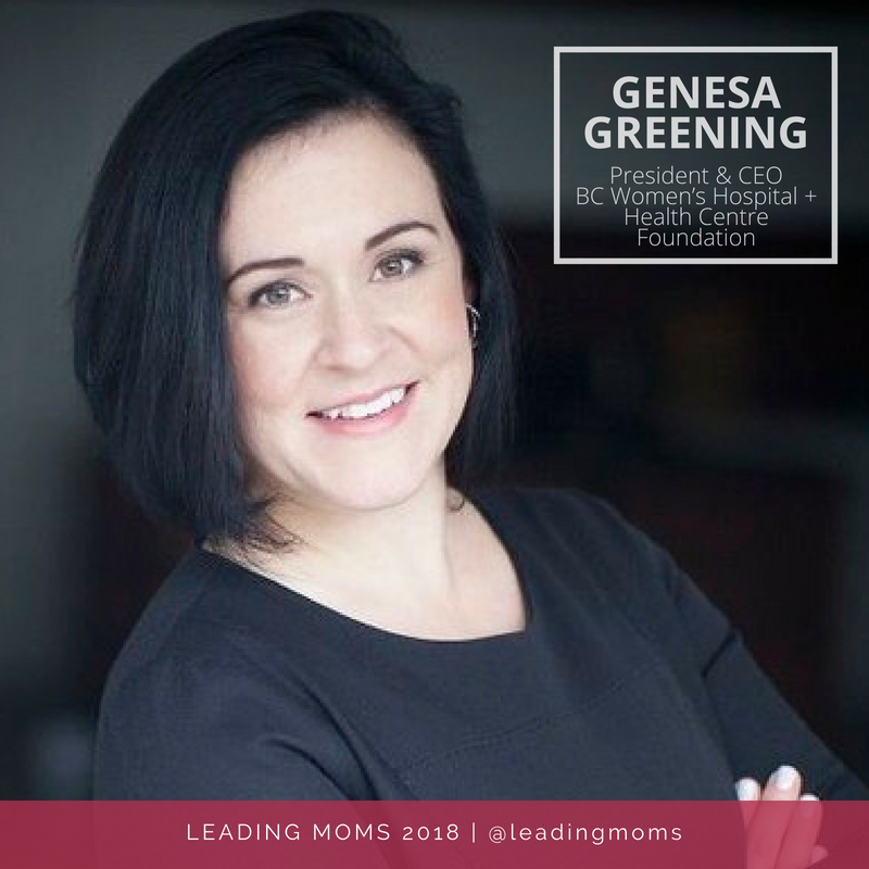 Genesa Greening with name
